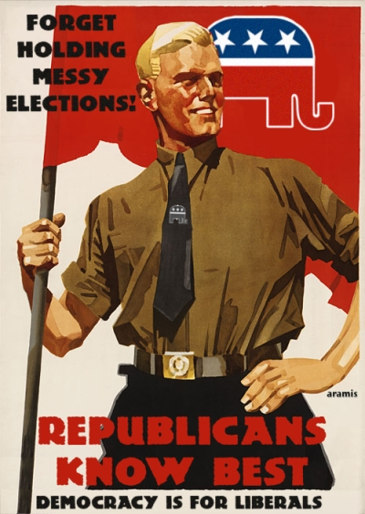 GOP Democracy Poster
